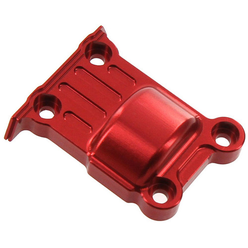 Atomik RC Traxxas X-Maxx Alloy Rear Differential Cover (Red)