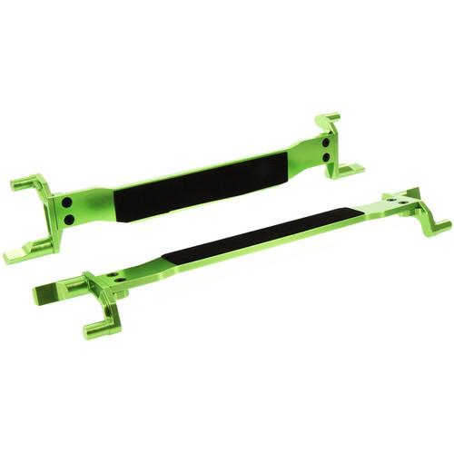 Atomik RC Traxxas X-Maxx Alloy Battery Hold Down (Set of 2, Green)