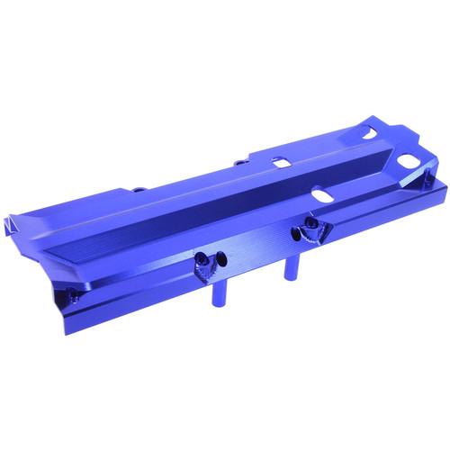 Atomik RC Traxxas X-Maxx Alloy Center Skid Plate (Blue)
