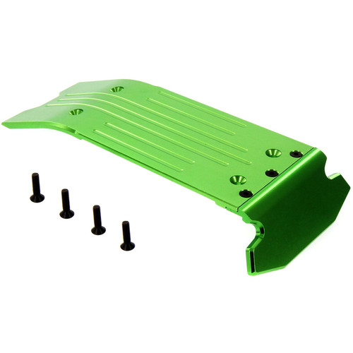 Atomik RC Traxxas X-Maxx Alloy Rear Skid Plate (Green)