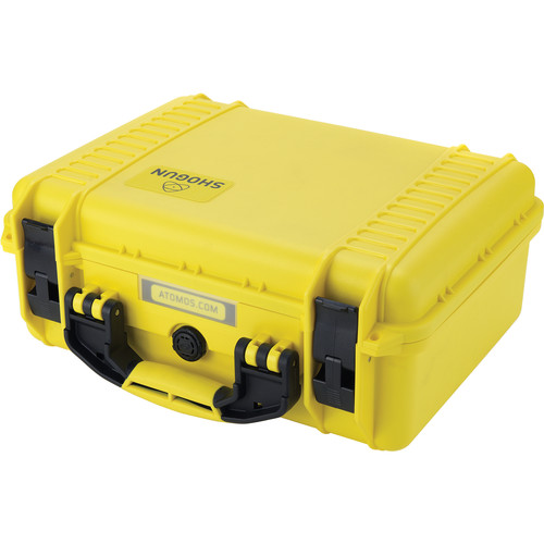 Atomos Yellow Shogun Carry Case by HPRC