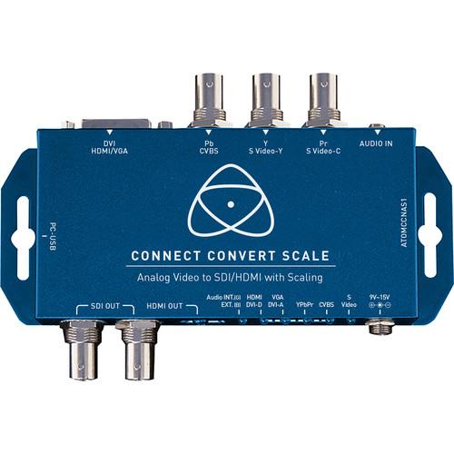 Atomos Connect Convert Scale   Analog to SDI/HDMI