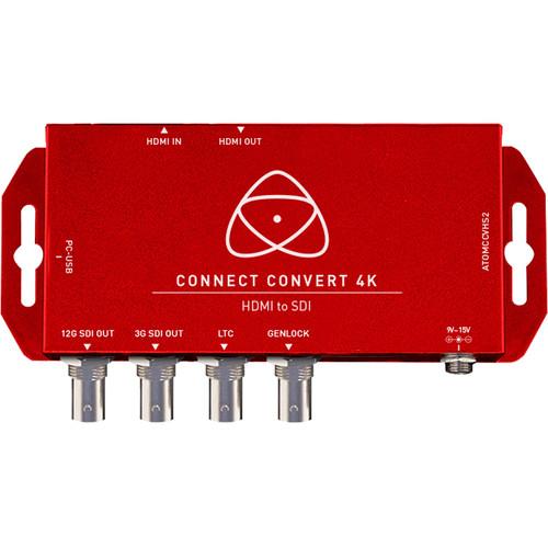 Atomos Connect Convert 4K | HDMI to SDI with Scale/Overlay