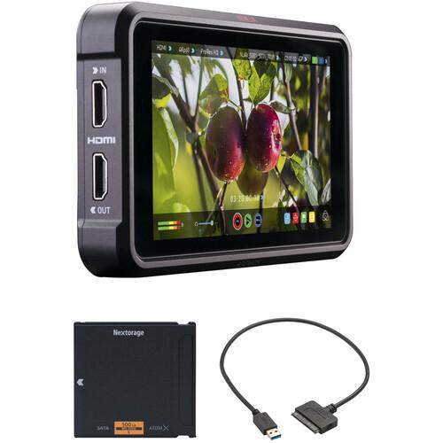 "Atomos Ninja V 5"" 4K Recording Monitor with 500GB Sony AtomX SSDmini Kit"