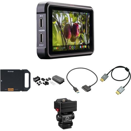 "Atomos Ninja V 5"" 4K Recording Monitor with 1TB Angelbird AtomX SSDmini Kit"