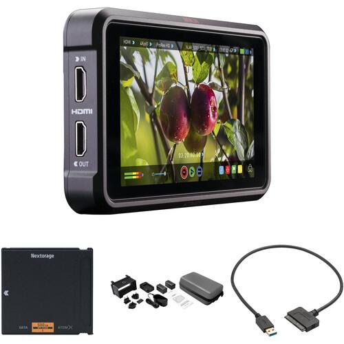 "Atomos Ninja V 5"" 4K Recording Monitor with 500GB Angelbird AtomX SSDmini Kit"
