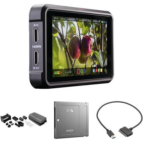 """Atomos Ninja V 5"""" 4K Recording Monitor with 2TB AtomX SSDmini Kit"""