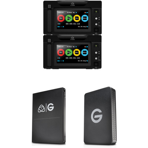 Atomos Ronin Duo with 1TB G-Technology HDD Kit