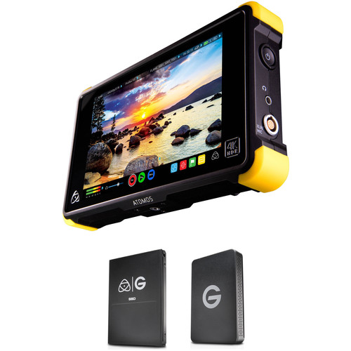 Atomos Shogun Flame with 256GB G-Technology SSD Kit