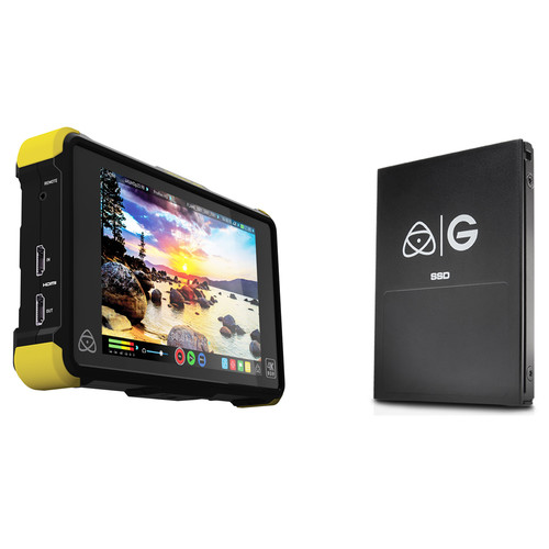 Atomos Shogun Flame with 512GB G-Technology SSD