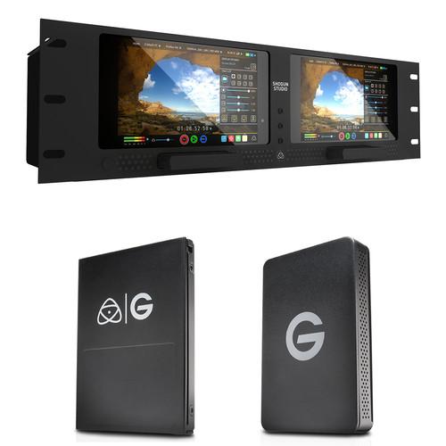 Atomos Shogun Studio with G-Technology 1TB SSD Kit