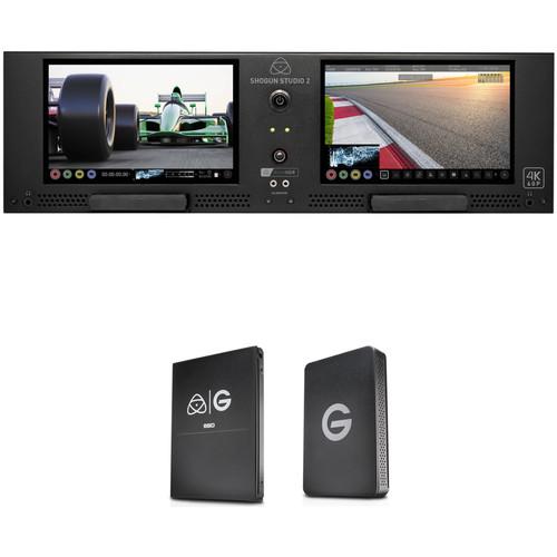 Atomos Shogun Studio with G-Technology 512GB SSD Kit