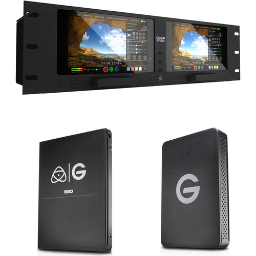 Atomos Shogun Studio with G-Technology 256GB SSD Kit