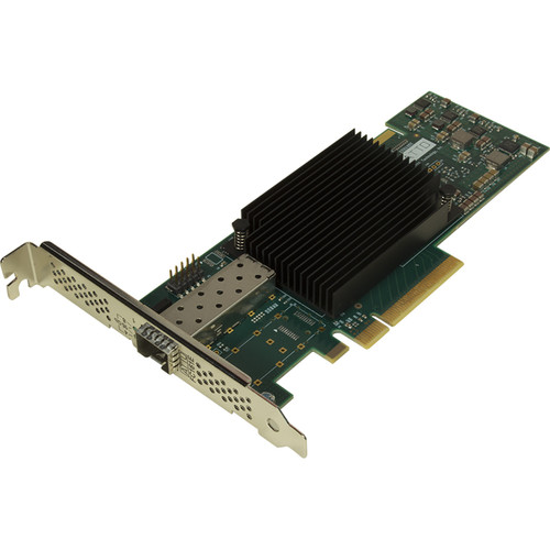 ATTO Technology Celerity Single-Channel 16 Gb/s Fiber-Channel PCIe 3.0 Host Bus Adapter with 2 x SFP+ Transceivers
