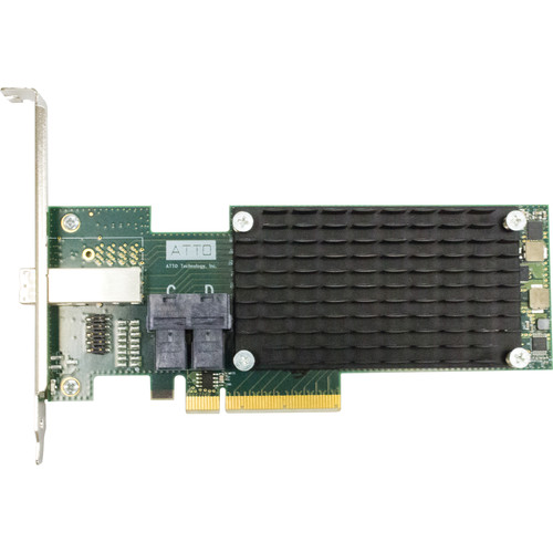 ATTO Technology ExpressSAS H1248 12 Gb/s SAS/SATA to PCIe 3.0 Host Bus Adapter