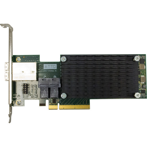 ATTO Technology ExpressSAS H1288 12 Gb/s SAS/SATA to PCIe 3.0 Host Bus Adapter