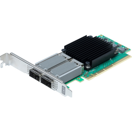 ATTO Technology FastFrame N312 QSFP28 Dual-Port 100GbE PCIe 3.0 Optical Interface