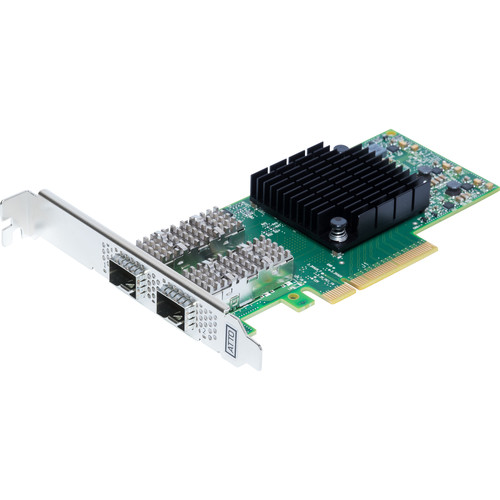 ATTO Technology Dual Channel 25GBE X8 Pcie 3.0, Low Profile, SFP28