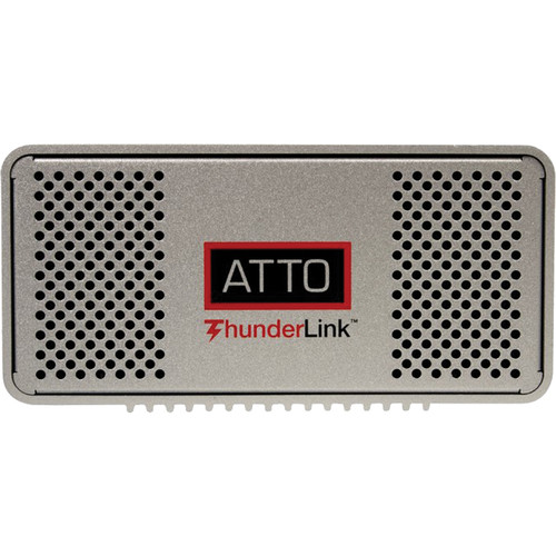 ATTO Technology TLNS-2102 20 Gb/s Thunderbolt 2 to 10 GbE Desklink Device (UK/EMEA)