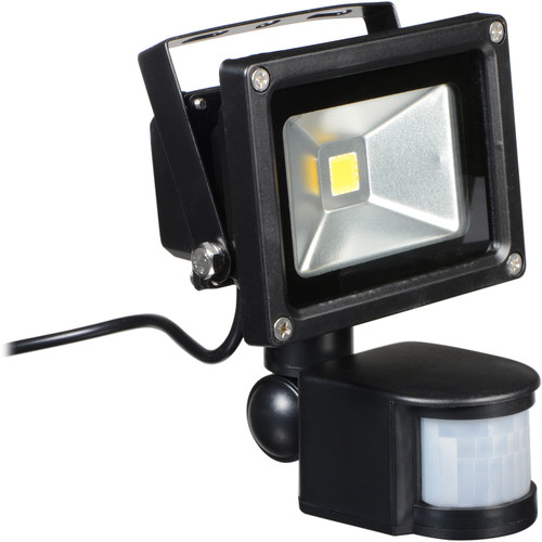 ATX LED 8w Outdoor PoE Floodlight with 802.3AF Pass-thru with Power Injector