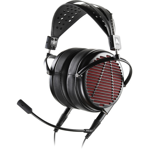 Audeze LCD-GX Open-Back Planar Magnetic Gaming Headphones with Boom Microphone