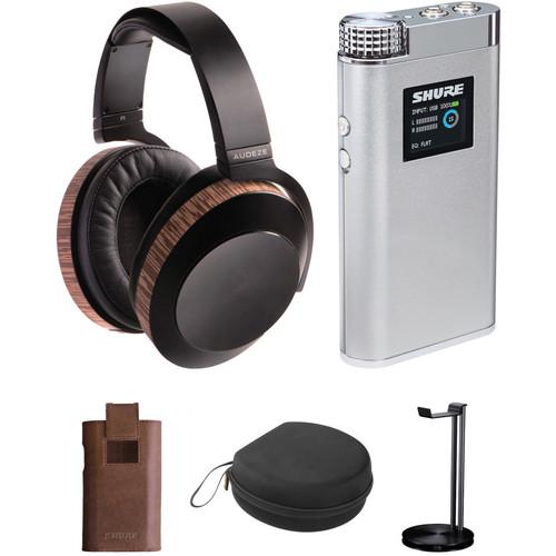 Audeze EL-8 Headphones and Shure SHA900 Portable Amplifier Kit (Closed-Back)