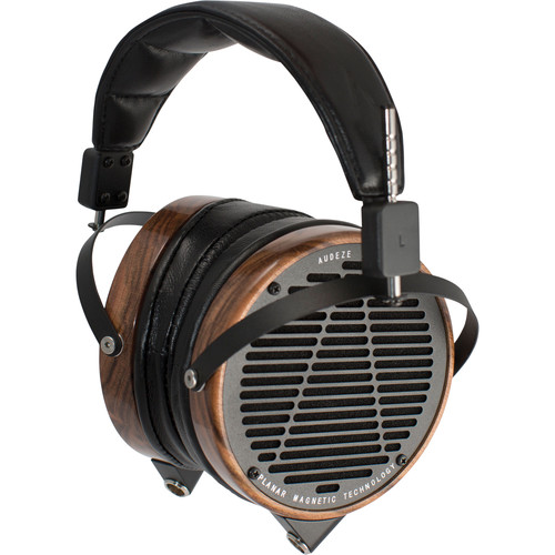 Audeze LCD-2 - High Performance Planar Magnetic Headphone With Ruggedized Travel Case (Rosewood, Lambskin Leather)