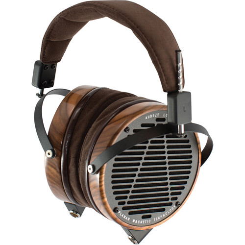 Audeze LCD-2 - High Performance Planar Magnetic Headphone With Ruggedized Travel Case (Rosewood, Leather-Free)