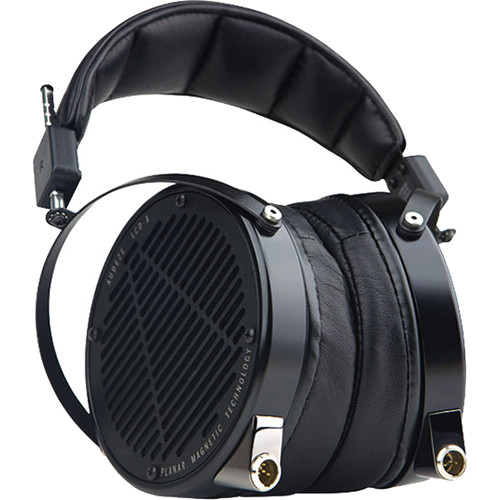 Audeze LCD-X - High Performance Reference Planar Magnetic Headphones with Rugged Travel Case (Anodized Aluminum, Lambskin Leather)