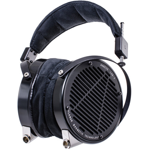 Audeze LCD-X - High Performance Reference Planar Magnetic Headphones with Rugged Travel Case (Anodized Aluminum, Leather-Free)