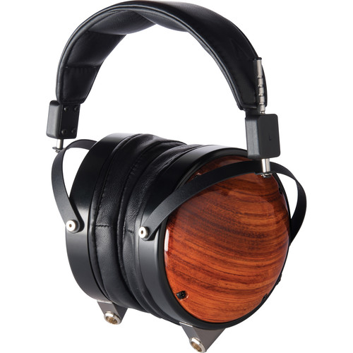 Audeze LCD-XC - High Performance Reference Closed-Back Planar Magnetic Headphones with Rugged Travel Case (Bubinga Wood Earcups, Lambskin Leather)