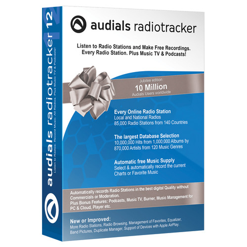 Audials USA Radiotracker 12