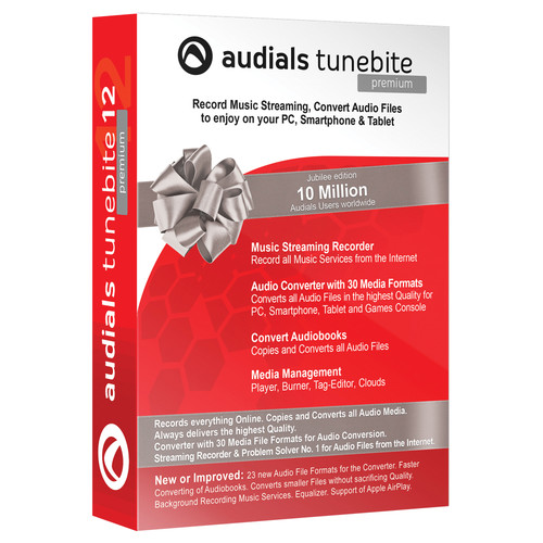 Audials USA Tunebite 12 Premium (Download)
