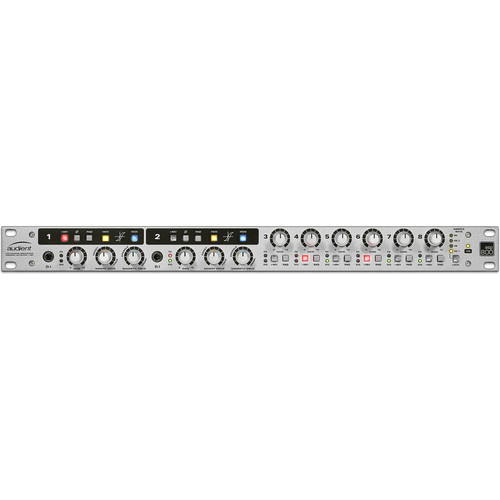 Audient ASP800 - 8-Channel Microphone Preamplifier and ADC with HMX & IRON