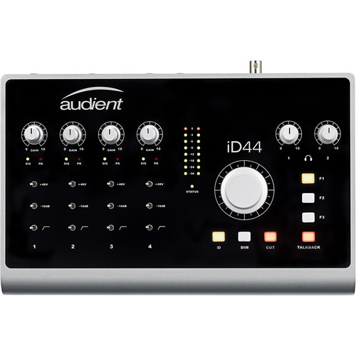 Audient iD44 Desktop 20x24 USB Type-C Audio Interface