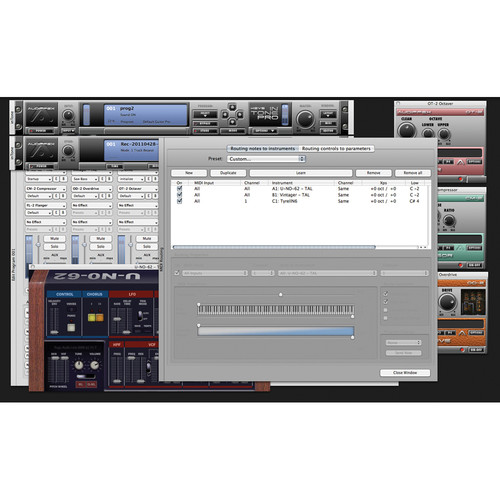 Audiffex inTone-1 Keys Pro Plug-In Software (Electronic Download)