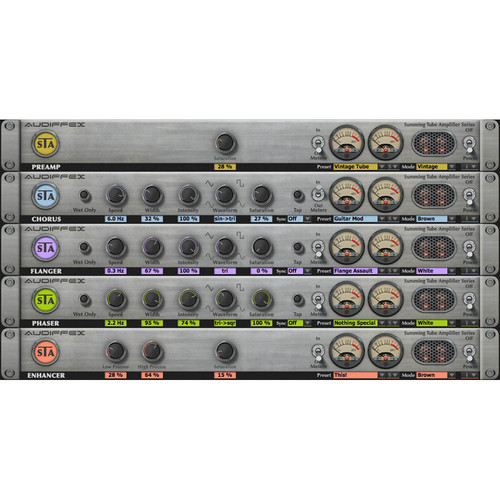 Audiffex STA Effects - Summing Tube Processors Plug-In (Download)