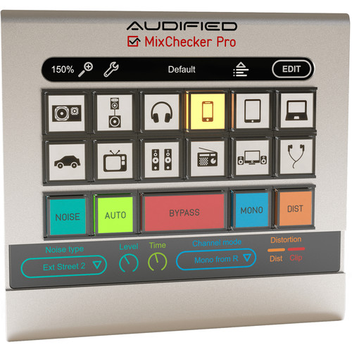 AUDIFIED MixChecker Pro - Monitor Simulation Plug-In (Download)