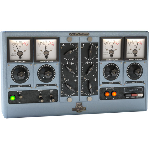 AUDIFIED RZ062 Equalizer Plug-in for Pro Audio (Download)