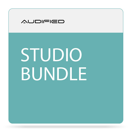 AUDIFIED Studio Bundle Plug-In Software Kit (Download)