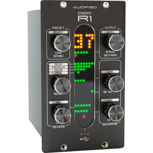 AUDIFIED Synergy R1 Reverb Rack Unit