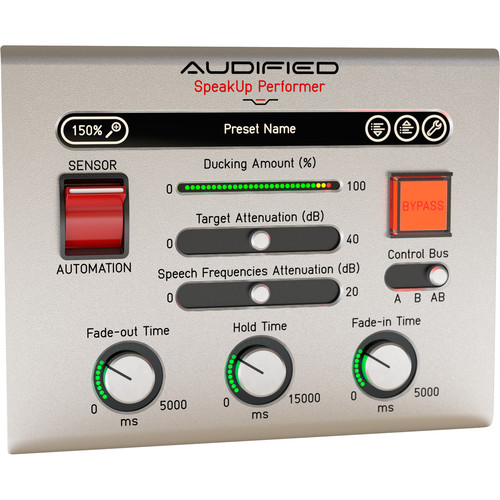 AUDIFIED AUD-SU1 SpeakUp Voiceover Software (Download)