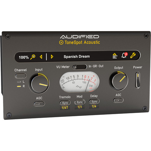 AUDIFIED ToneSpot Acoustic Express Software (Download)
