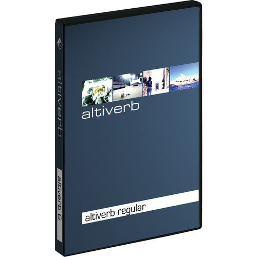 Audio Ease Altiverb 7 - Convolution Reverb Plug-In Software