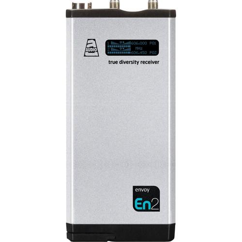 Audio Ltd. DX2 Compact 2-Channel True Diversity Receiver (614 to 654 MHz)