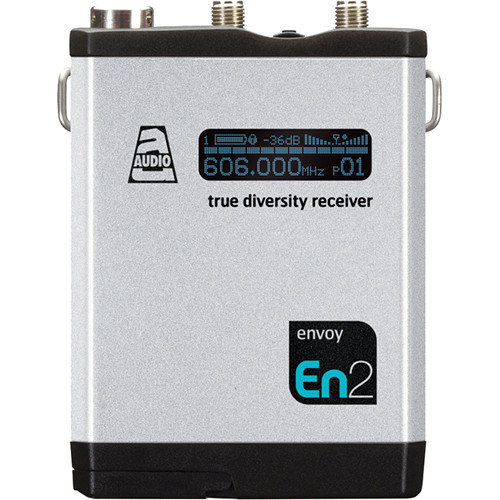 Audio Ltd. DX Compact True Diversity Receiver (654 to 694MHz)