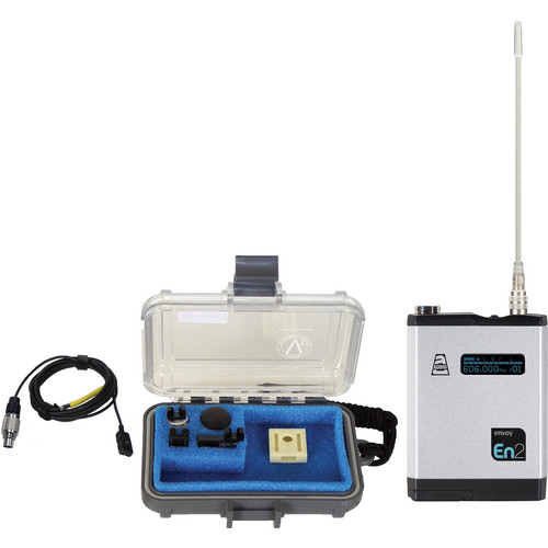 Audio Ltd. TXPH Transmitter with VT500 Omni Lavalier Mic (654 to 694 MHz)