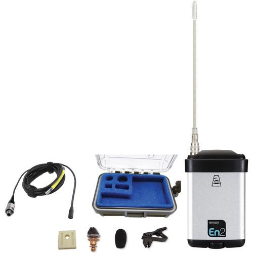 Audio Ltd. miniTX Ultra-Mini Transmitter with VT403 Lavalier Mic (614 to 654MHz)