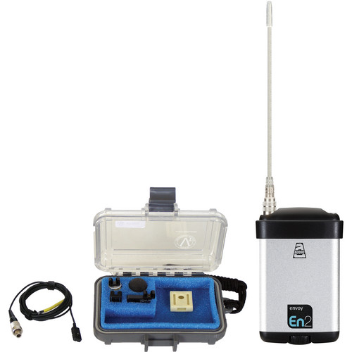 Audio Ltd. miniTX Ultra-Mini Transmitter with VT500 Lavalier Mic (614 to 654MHz)