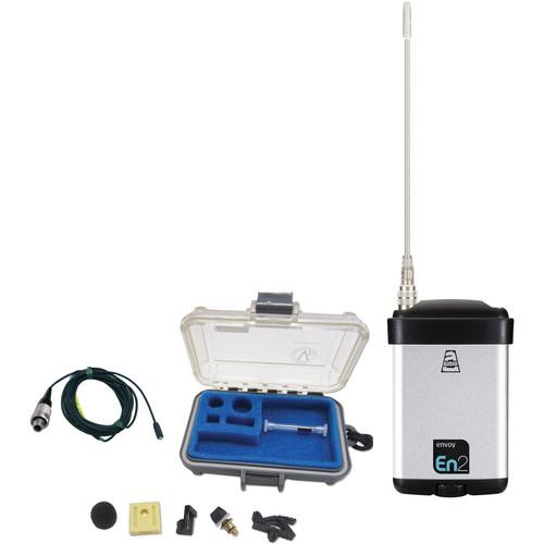 Audio Ltd. miniTX Ultra-Mini Transmitter with VT401HS Lavalier Mic (654 to 694MHz)